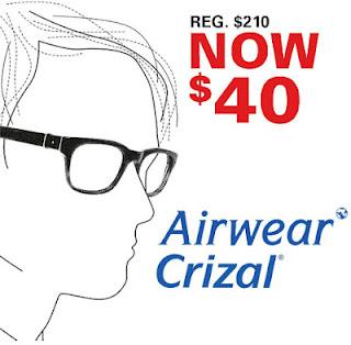 Airwear Crizal Lenses