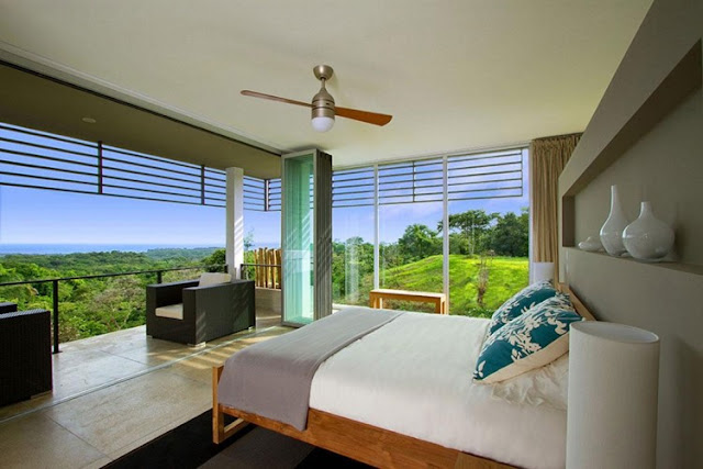 Modern Eco Jungle House bed set