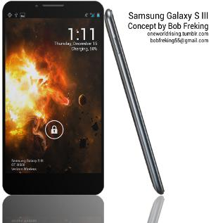Galaxy S III became the thinnest Smartphone in the World?