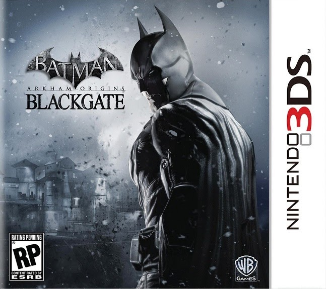 3DS Batman Arkham Origins Blackgate Cover