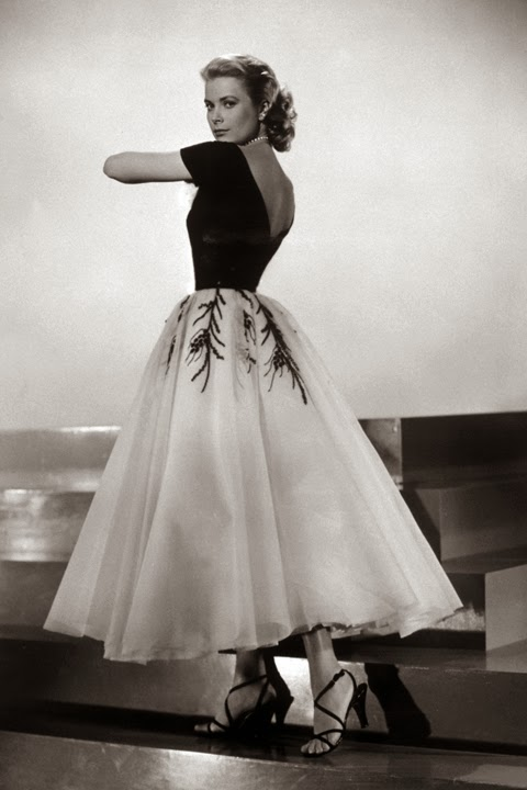 tulle skirt - princess grace kelly of monaco style icon