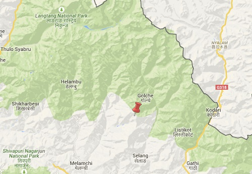 langtang national park earthquake