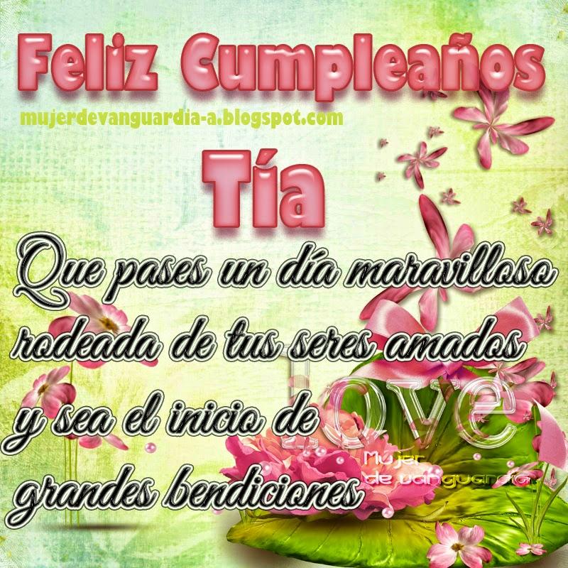 Feliz Cumpleanos Querida Tia Feliz Cumpleaños Querida Tía