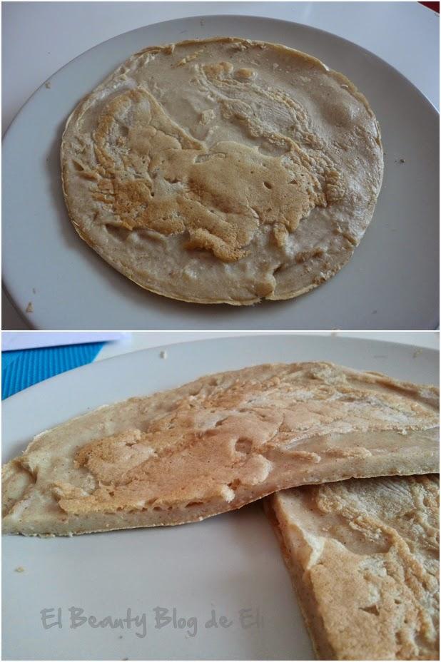 Tortitas de harina de salvado