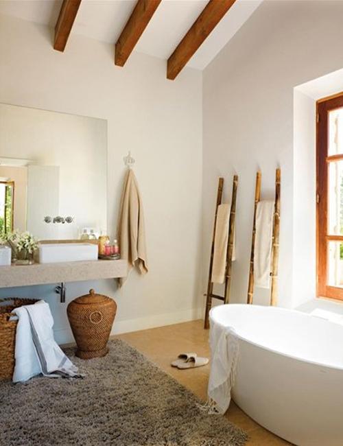 Decorar Baño Rustico:10 preciosos baños rústico-chic10 gorgeous rustic chic bathrooms