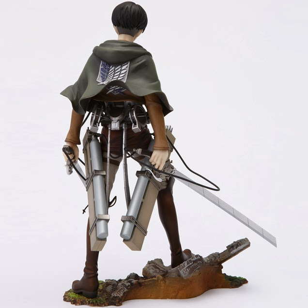 Levi Figure 1/8 of Attack on Titan Anime