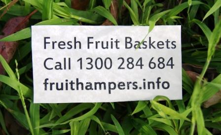 Fruit Hampers call 1300 284 684