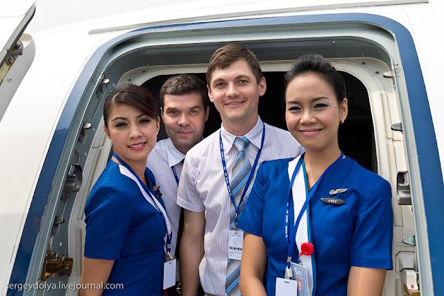 Pramugari dan crew yang Menjadi Korban Sukhoi Superjet 100