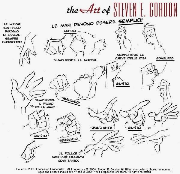 Top Kinart, lezioni di fumetto online!: Disegno 10: Steven E. Gordon  LU81