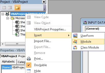 Cara Membuat Input Data Siswa Pada Vba Excel