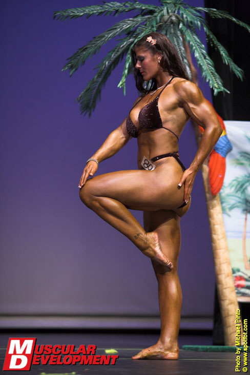 Kristen Hang Female Muscle Bodybuilding Muscular Development