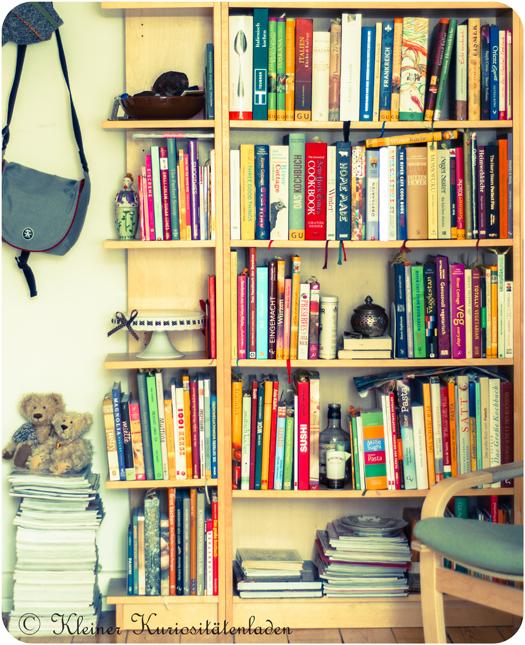 Meine Kochbücher und -Zeitschriften