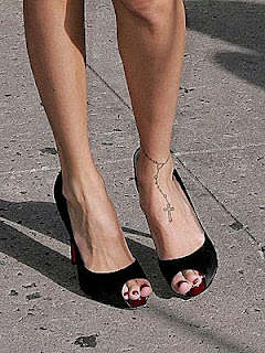 Ankle Bracelet Tattoo Design Photo Gallery - Ankle Bracelet Tattoo Ideas