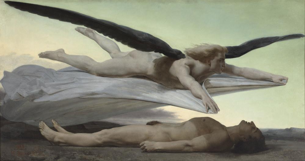 Égalité devant la mort. 1848 - óleo sobre tela
