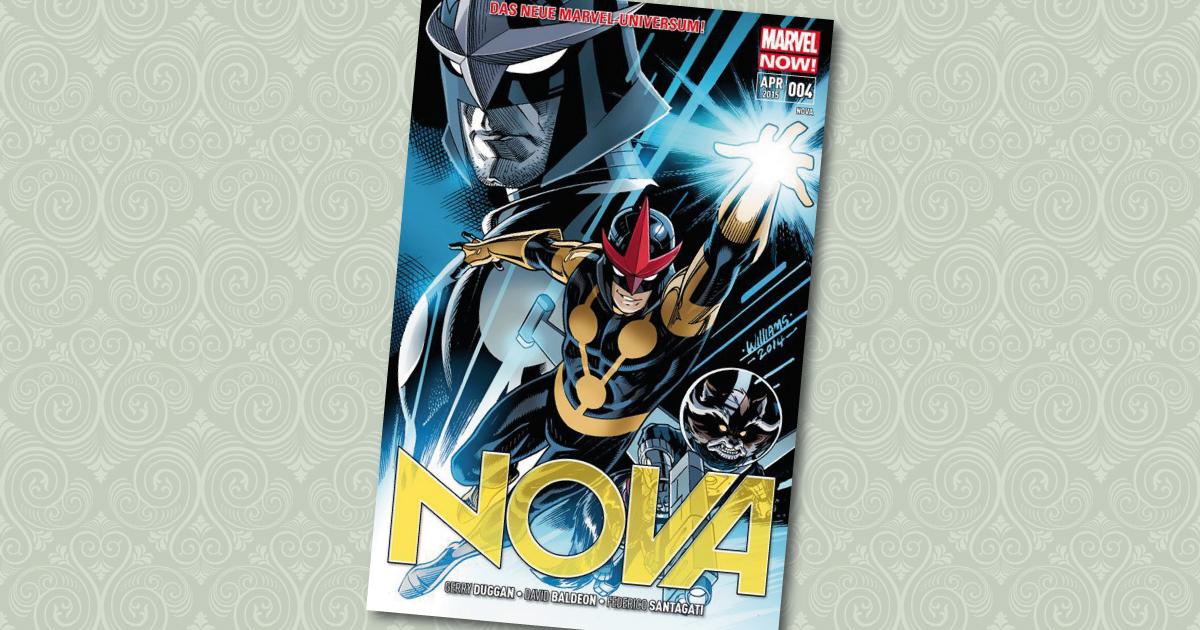 Nova 4 Original Sin Panini Cover
