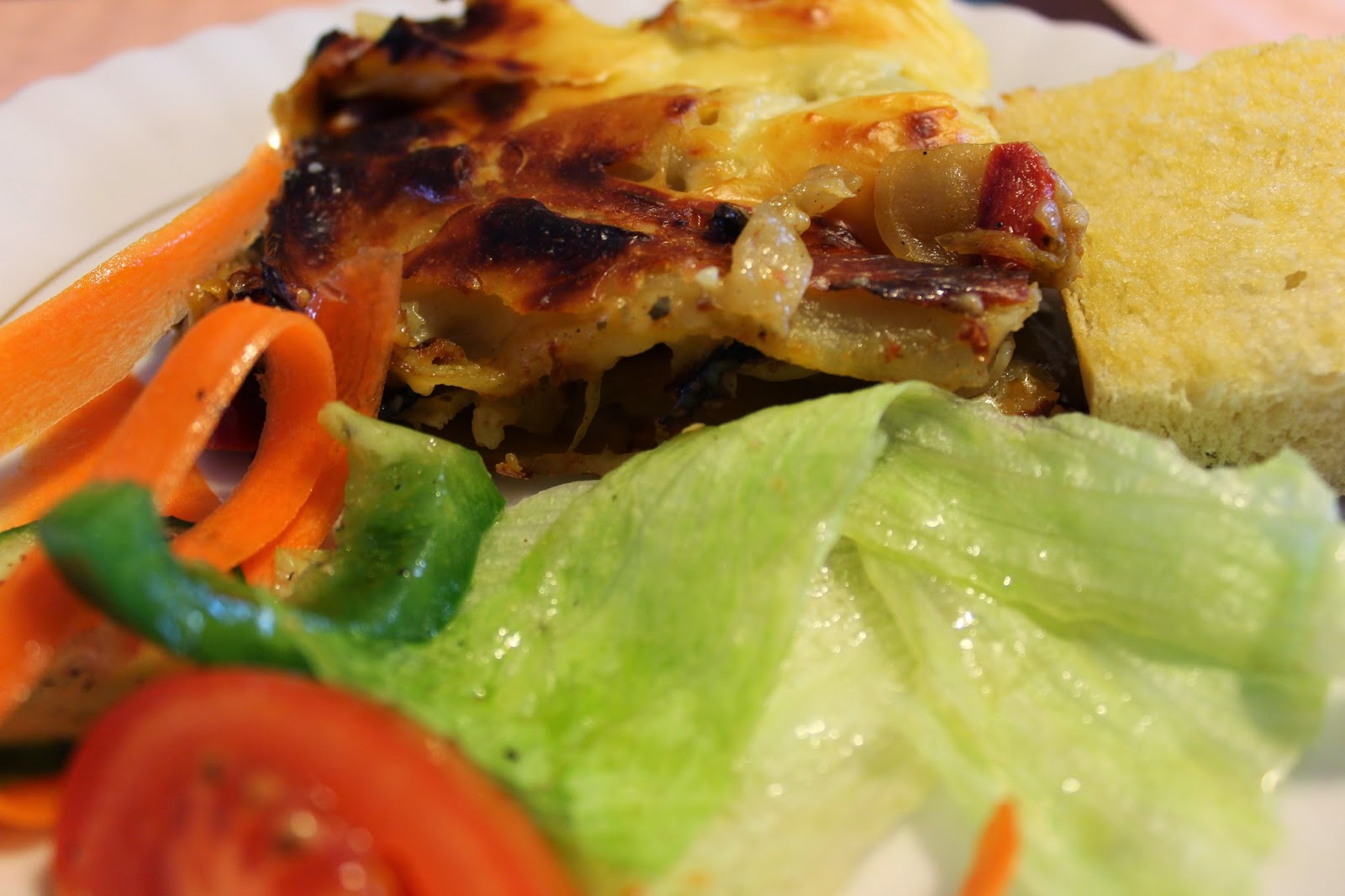 lasagne via lovebirds vintage