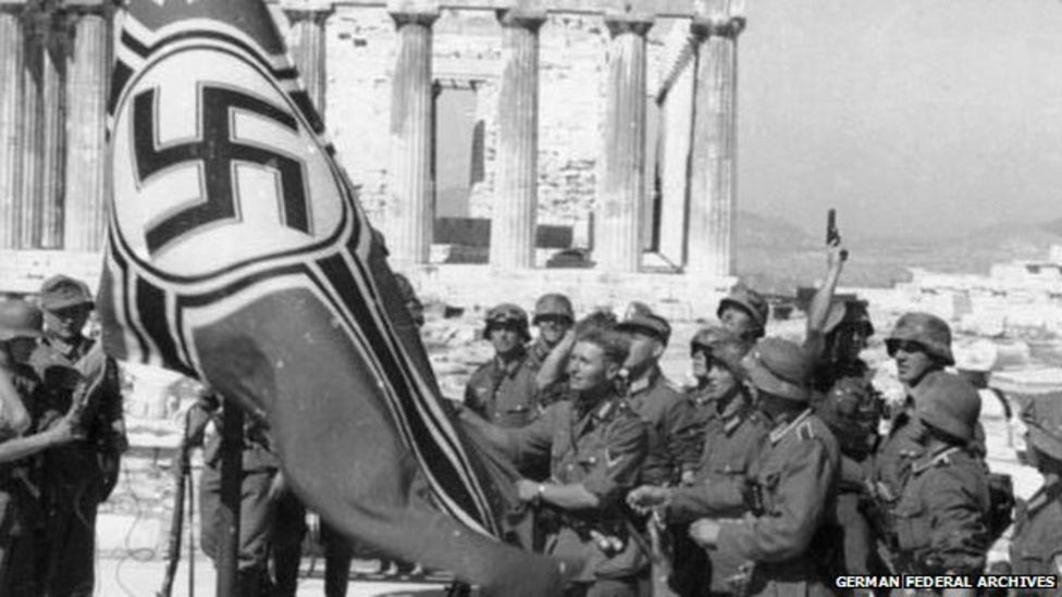 German World War II Reparations to Greece - Nazis in Acropolis