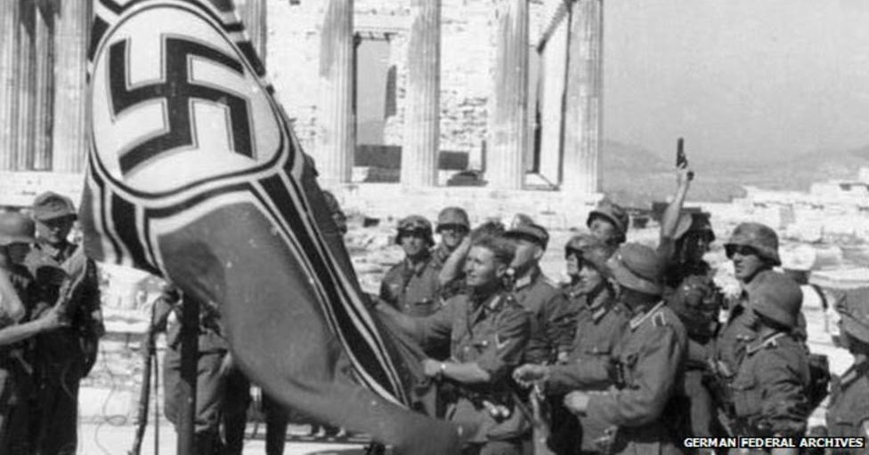 Germany owes more than €279bn WWII reparations to Greece - more than Greece's debt to EU