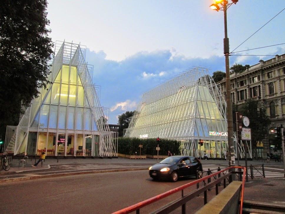 Milano by night (excursia Paris-Coasta de Azur, ziua 9)