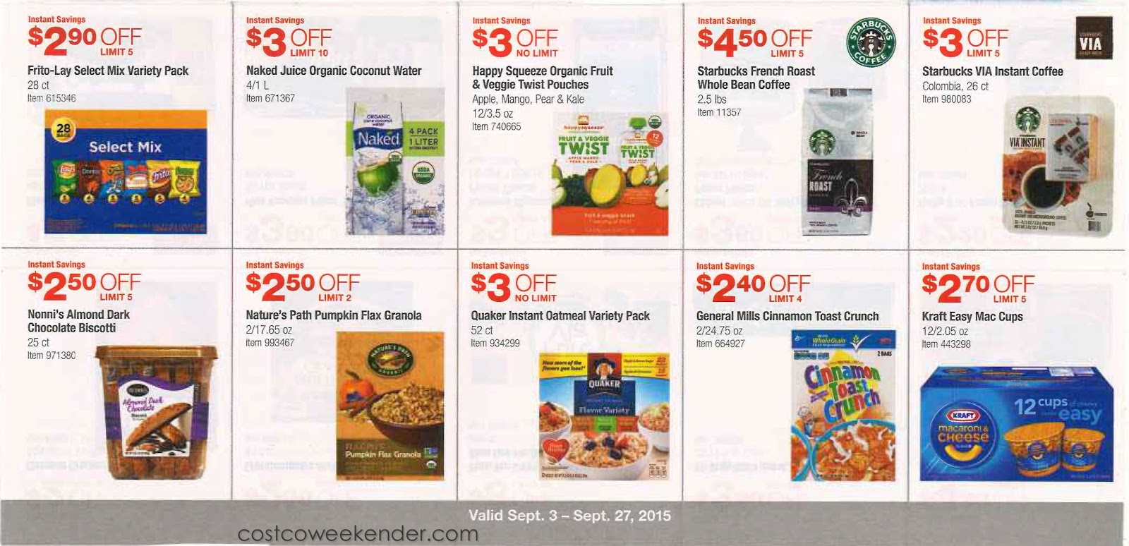 Costco coupons september 2019