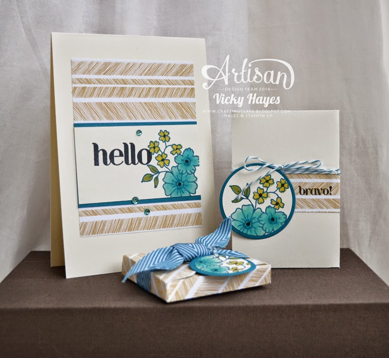 Join my Stampin' Up team and receive my handmade welcome pack