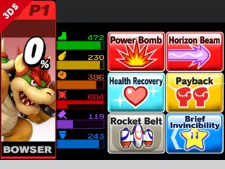 Super smash bros 4 Bowser 3DS