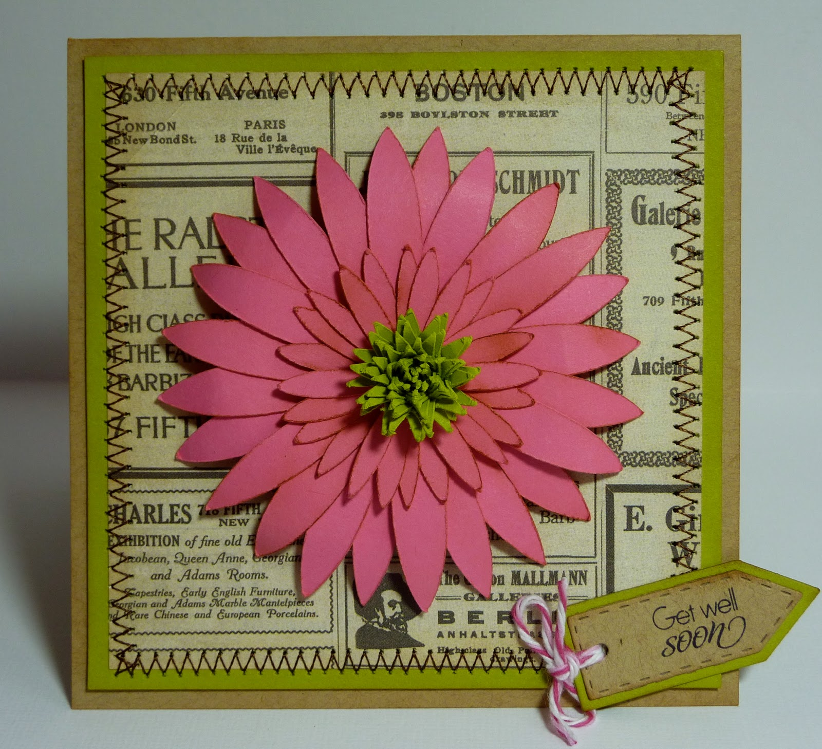 Crafting With Katie: Get Well Card
