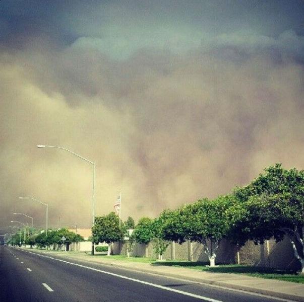 KELAPA MUDA: Badai Pasir di Arizona