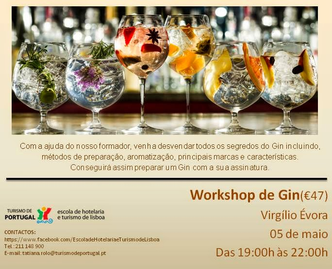 Workshop de Gin – Lisboa