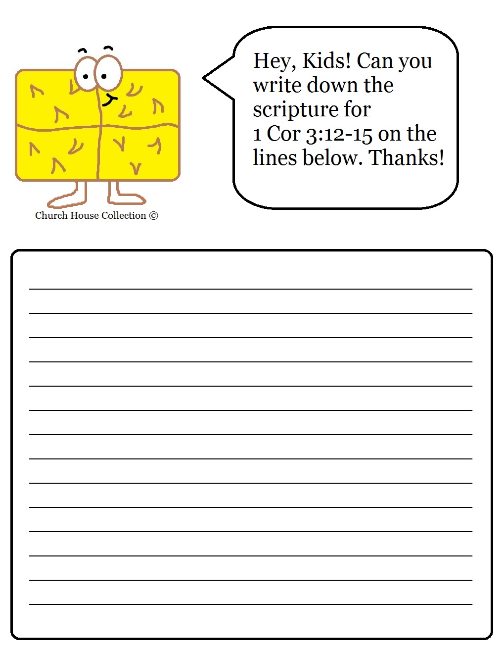 Worksheet Sunday School Worksheets church house collection blog hay bale sunday school lesson for writing scripture worksheet