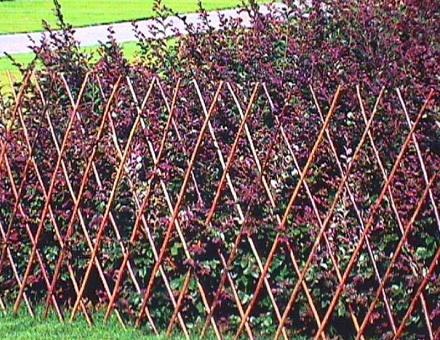 Home decorations garden fence design ideas garden fence for Garden fence designs ideas