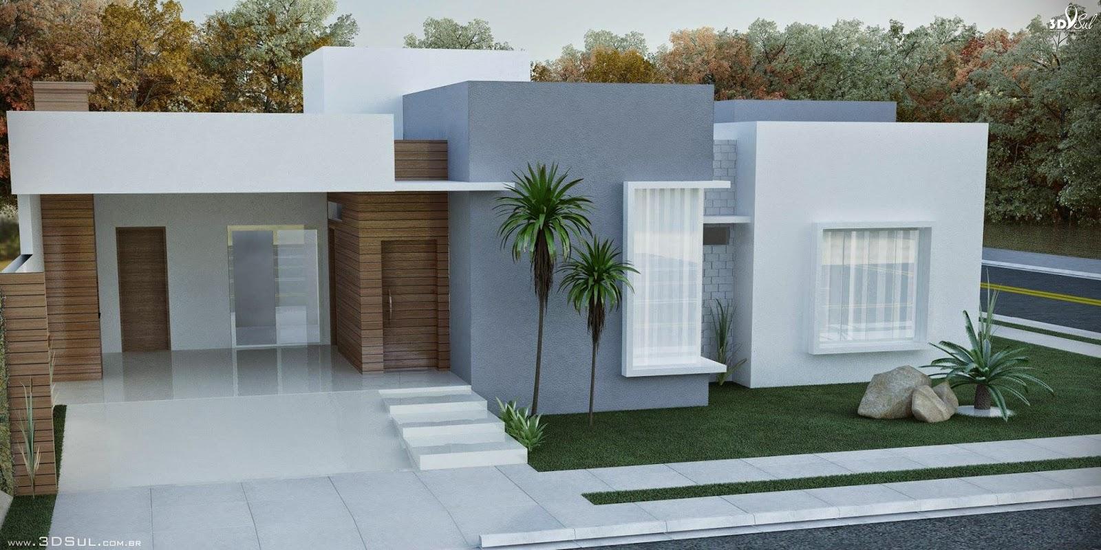 3dsul maquete eletr nica 3d projeto arquitetura for Casas modernas 2015