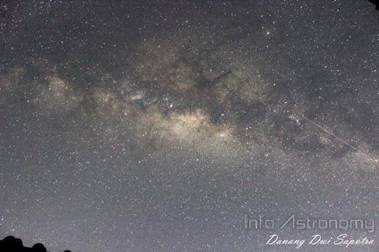 Temukan Rasi Bintang Orion dan Lihat Galaksi Bima Sakti