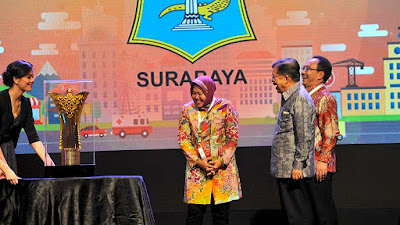 Surabaya Raih Penilaian Tertinggi Dalam IKCI 2015