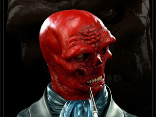 Red Skull Legendary Scale Bust