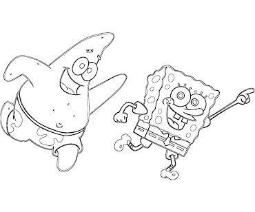 #11 Spongebob Coloring Page