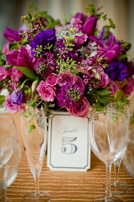 Purple wedding centerpiece ideas stuff