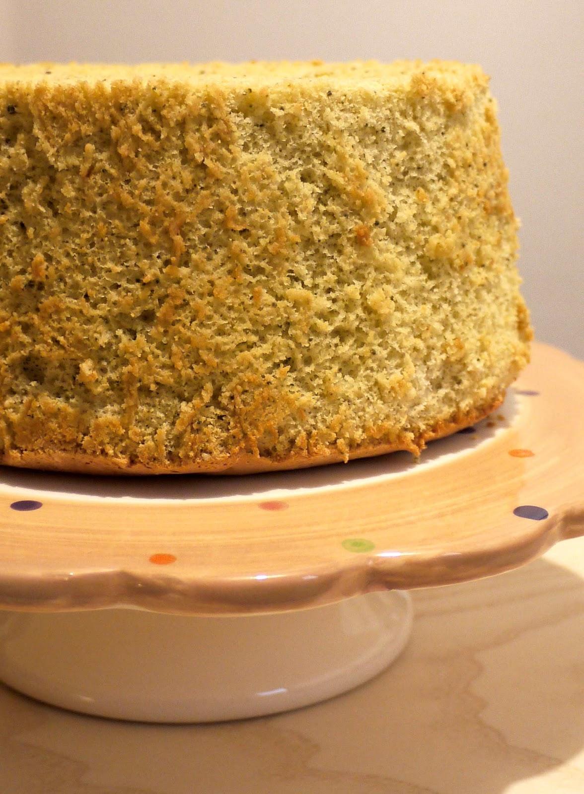 Matcha Chiffon Cake Recipe