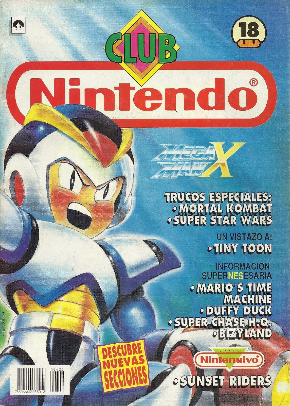 Revista de video juegos club nintendo en espa ol para for Megaman 9 portada