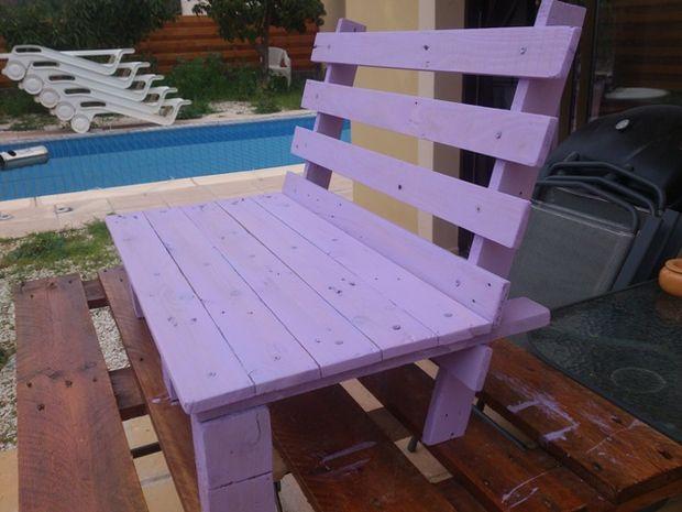 Dise o de silla peque a para ni os for Sillas hechas de palets