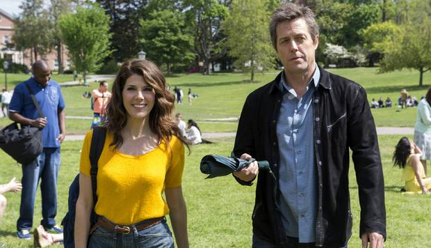New Trailer and Poster for 'The Rewrite' Starring Hugh Grant & Marisa Tomei