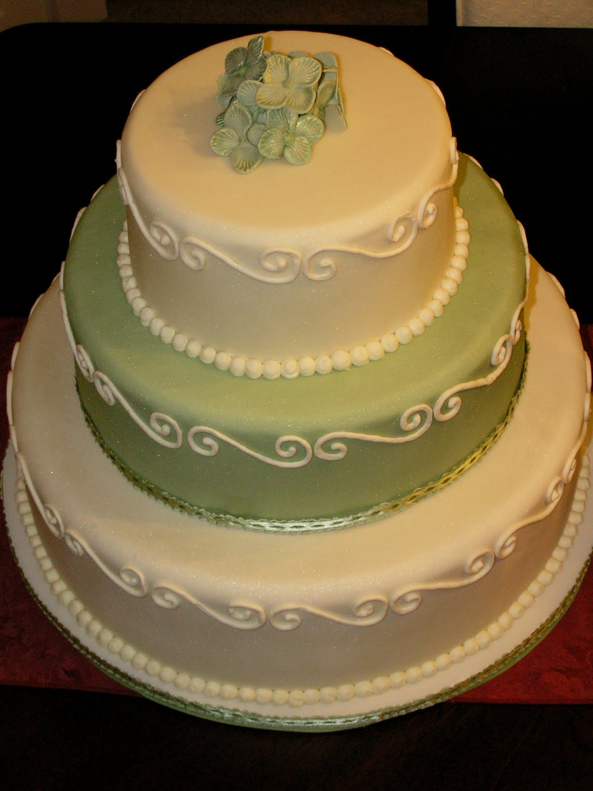 Carrie\'s Custom Cakes and Cookies: Tiered cakes (Including wedding ...