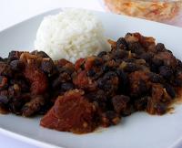 Chili de Feijão Preto (vegana)