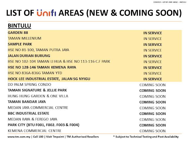 unifi latest coverage in bintulu sarawak
