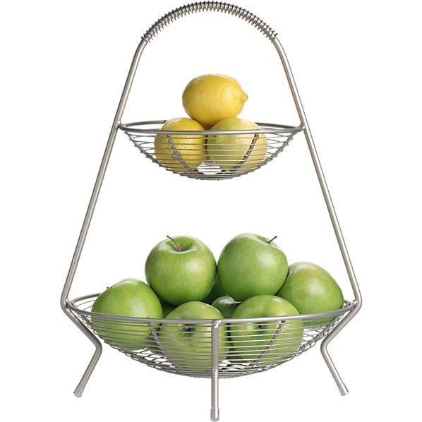 Utterly organised lusting after a two tier fruit bowl - Tiered fruit bowl ...