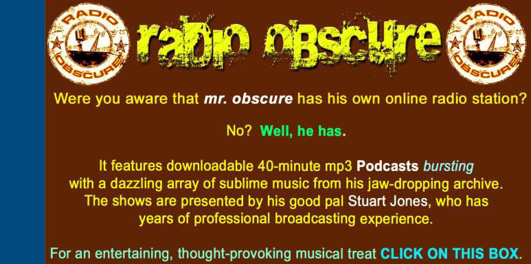 Radio Obscure link