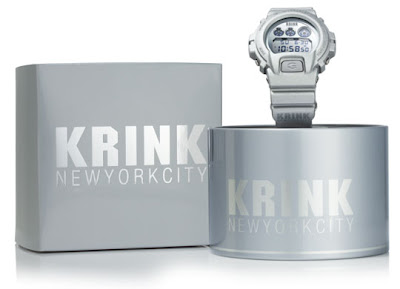 casio g-shock x krink 6900 watch