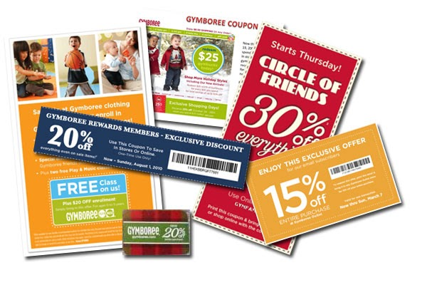 This is a graphic of Modest Gymboree Coupon in Store Printable