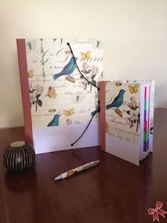 Conjunto de carpeta y agenda cartonnage
