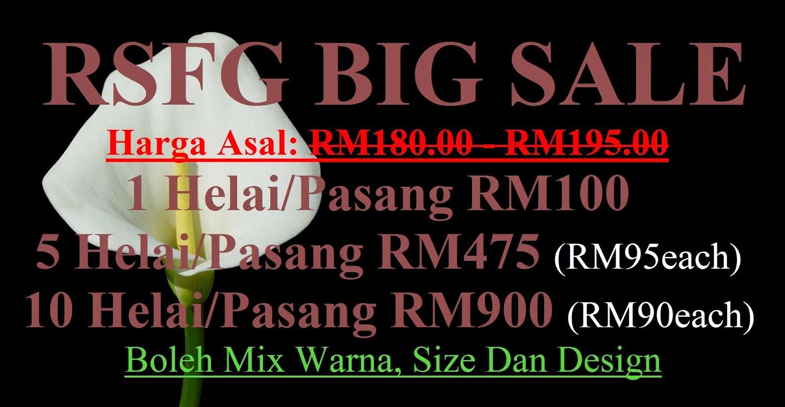 RSFG BIG SALE